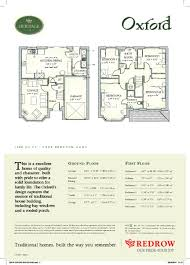 Redrow Oxford Floor Plan 4 Bedroom Detached House For Sale In Bridgwater Road Bathpool