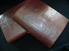 handmade leather photo albums tree of handmade leather wedding album or guest book