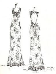 www etsy com shop dresssketch wedding dress sketch wedding dress
