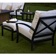 outdoor chair ottoman sets patio ottomans and chairs home