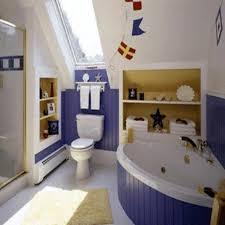 bathroom ideas nautical bathroom decor for kids with mosaic floor