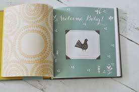 baby book welcome baby book a baby s year keepsake by blue sky papers