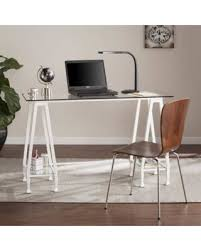 southern enterprises writing desk find the best savings on southern enterprises jumpluff metal glass a