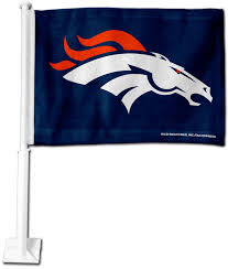 Flag Of Denver Rico Denver Broncos Car Flag U0027s Sporting Goods
