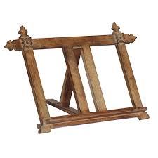 wholesale handmade wooden stand holder rack for books