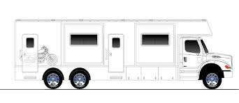 Small Rv Floor Plans Iws Motor Coaches Coach Models Renegade Classic With Garage
