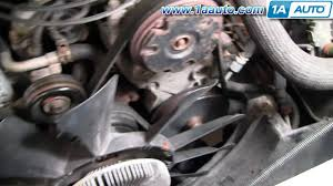 how to install replace radiator chevy pickup truck tahoe suburban