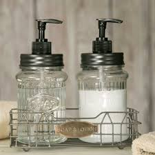 vintage rustic classic hoosier kitchen cabinet jar soap lotion disp