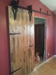 Reclaimed Barn Door Hardware by Antique Industrial Hardware Sliding Barn Door Porter Barn Wood