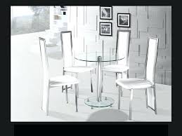 chrome dining room chairs glass table and chair sets round clear glass chrome dining table and