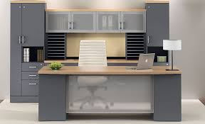 Grey Office Desk Modern Office Desks Houston