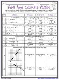 worksheet on slope worksheets