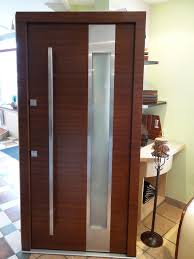 Modern Entry Doors by Model 001 Custom Meranti Wood Exterior Door Contemporary Front
