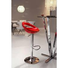 Zuo Modern Bar Table Zuo Tickle Adjustable Height Chrome Bar Stool 300021 The Home Depot