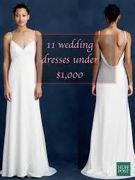 cheap bridal dresses 11 wedding dresses 1 000 huffpost