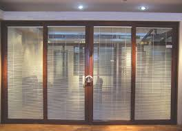 aluminum sliding door blinds u2013 classy door design best sliding