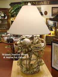 Sculpture Table Lamps Nautical Table Lamps Skipjack Nautical Wares