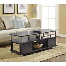 Living Room With No Coffee Table by Coffee Table Espresso Finish Rascalartsnyc