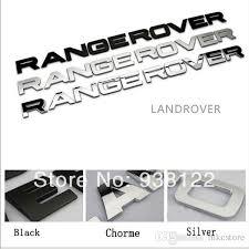 range rover hood trunk 3d letter sticker emblem badge fits