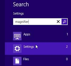 quickly invert colors on windows 8 using the magnifier