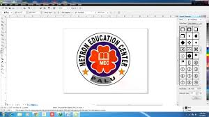 membuat logo kelas dengan photoshop cara membuat logo di coreldraw x4 youtube