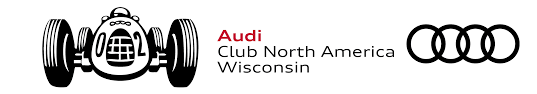 audi logo black and white wisconsin audi club north america