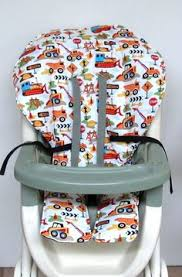 Graco High Chair Seat Pad Replacement Nautical High Chair Cover Graco Baby Accessory Replacement Cover