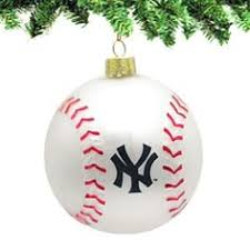 new york yankees team glass baseball ornament i am going to have