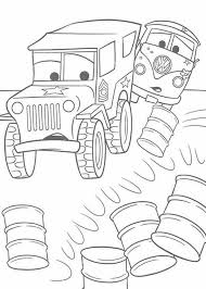 sarge cars coloring page archives mente beta most complete