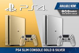 Ps 4 Ps4 Slim 500 Gb Gold Original Garansi Resmi Sony Pes 2018 datablitz they re here playstation 4 slim 500gb