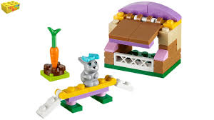 Rabbit Hutch Instructions Lego Friends Bunny U0027s Hutch 41022 Series 2 Review Youtube
