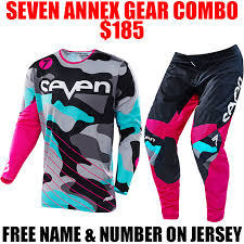 motocross pants and jersey combo 2017 seven soldier gear combo magenta pro style mx