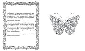 amazon com ivy and the inky butterfly a magical tale to color