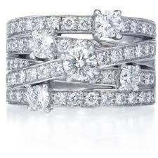 harry winston diamond rings harry winston rings diamond rings crossover ring polyvore