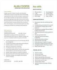 executive assistant resume template administrative assistant resume sles canada template free