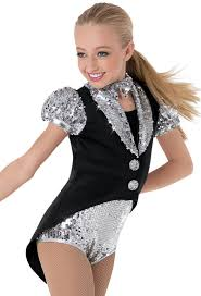 weissman sequin fosse tailored leotard jazz costume ideas
