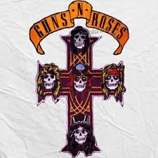 guns n roses embroidered big patches skull cross and title axl