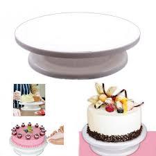 plateau tournant cuisine cuisine cuisson cuisson gâteau faisant plateau tournant décoration