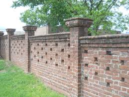 33 best brick borders privacy and retaining walls images on