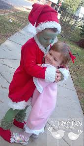 Baby Grinch Halloween Costume Grinch Cindy Lou Costumes Photo 4 4
