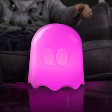 pac man plastic ghost lamp white amazon co uk lighting
