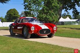 1954 maserati a6gcs salon prive concours 2016 photos winners report