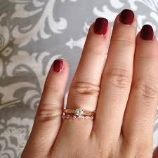 my wedding band i picked up my wedding band today show me your mismatched dainty