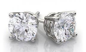 diamond earrings nz diamonds solitaire diamond earrings holy buy real diamond