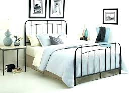 Iron King Bed Frame King Size Iron Bed Fetchmobile Co