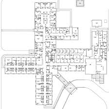 oncology center floor plans above plan indicates cyclotron