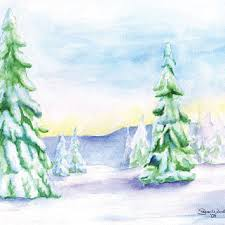 christmas cards in watercolor best watercolor christmas cards products on wanelo