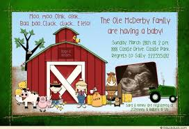 Farm Theme Baby Shower Decorations John Deere Baby Shower Invitations U2013 Diabetesmang Info