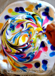 Decorating Easter Eggs Using Shaving Cream And Food Coloring by Diy Marbled Paper From Shaving Cream Shaving Cream Craft And