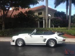 porsche gemballa 1986 911 carrera cabriolet convertible gemballa body